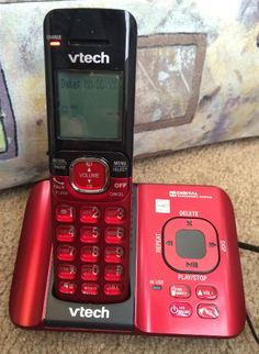 Valentine's Day Red Vtech DECT 6.0 Cordless Phone System & #Giveaway! — The Queen of Swag!