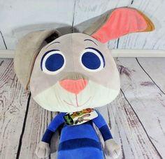 "Disney Zootopia Judy Hopps Pillow Plush Large Bunny Rabbit Officer 34"" #Disney"