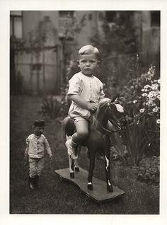 August Sander. III/14/6. Middle-Class Child, c. 1930. Gelatin Silver Print, printed later by Gerd Sander © Photographische Sammlung/SK Stift...
