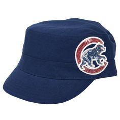 Forty Seven Brand Juniors Chicago Cubs Cabaret Hat @Debbie Howerton D...pretty cute if we make it to a game :)