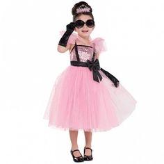 Girls Glam Princess Tutu Fancy Dress Costume