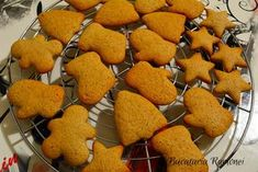 Baby Food Recipes, Cooking Recipes, Romanian Food, Christmas Desserts, Gingerbread Cookies, Biscuits, Recipies, Food And Drink, Gluten Free