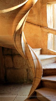 Convent of Christ stairs detail - Tomar - Portugal