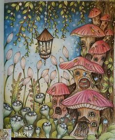 @Regrann#wonderfulcoloring from @jaki21x - Čarovné Lahodnosti book ☺ #adultcoloringbook #colouringforadults #colouring #klaramarkova #carovnelahodnosti #regrann