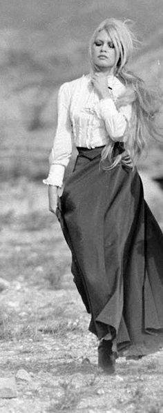 Brigitte Bardot dans Viva Maria de Louis Malle. 1965