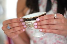 Tea & Tips: A Girlie Manicure Party | theglitterguide.com