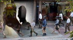 تكرار جنايت اسيد پاشى بسيجيان در تهران سيماى آزادى – 25 آذر 1393  ====== Mojahedin – Iran – Resistance – Simay  Azadi -- مجاهدين – ايران – مقاومت – سيماي آزادي