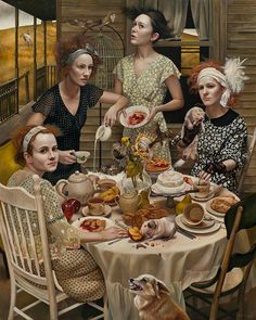 "Andrea Kowch has been described as ""a powerful voice emerging, demonstrating a highly sensitive consciousness that informs a culturally-laced symbolis..."