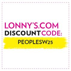 "From May 10 to June 14, enter ""PEOPLESW25"" at checkout for a discount on full-price merchandise. 25%"