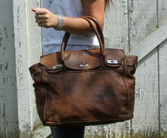Best Handmade Premium Leather Italian Handbag money can buy!! Every bag is unique and has its own character.