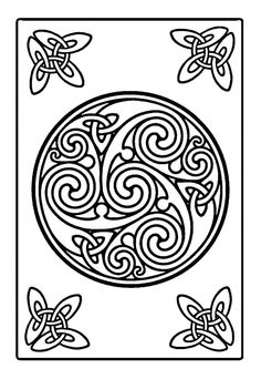celtic coloring pages - Google Search