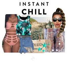 """""""#instant_chill"""" by cinirateixeira ❤ liked on Polyvore featuring Lilly Pulitzer, Style & Co., Dot & Bo and Retrò"""
