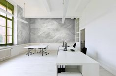 NEW! CARRARA by GIO Not just marble look but Italian Carrara--with every elegant vein in three luminous large format tones. #interiordesign #commercialdesign #tiledesign #tilework #tileporn #architecture  #nashville #wedgewoodhouston #charlotte by giotile