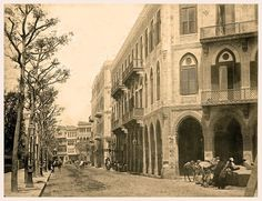 Khedivial Egypt, Downtown Cairo About 1881.