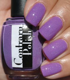Contrary Polish I Kinda Lilac You // @kelliegonzoblog FROM OUR AMAZING BLOGGER TEAM Shop here- www.color4nails.com Worldwide shipping available