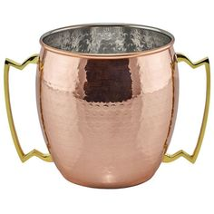 Old Dutch 128 oz. Hammered Solid Copper Jumbo Mug 485 - The Home Depot Copper Moscow Mule Mugs, Copper Mugs, Champagne Cooler, Groomsmen Gifts Unique, Geometric Heart, Mugs For Sale, Bar Set, Tea Cups, Dutch