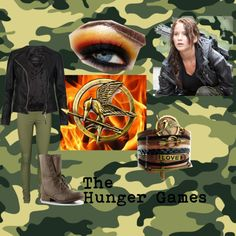 """Hunger Game Inspired Outfit"" by olivia-ingersoll on Polyvore"