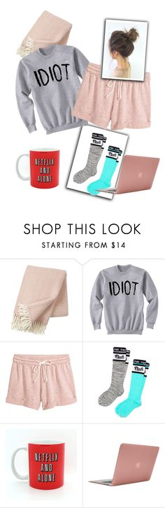 """""""Lazy day"""" by madikw-2 ❤ liked on Polyvore featuring Klippan, Victoria's Secret PINK and Incase"""