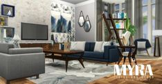 Myra Living at Simsational Designs • Sims 4 Updates