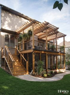 ... Deck Supply | Fireplace: Henges Insulation | Furniture – screened-in porch: Pottery Barn | Furniture – deck: Seasonal Concepts | Hanging plants & most ...
