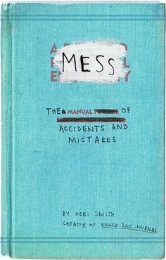 """""""MESS"""" the book - altered books"""