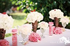 Ice Cream themed party table