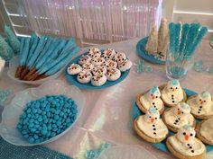 Frozen Themed Food, Frozen Party Food, Frozen Party Favors, Frozen Party Decorations, Elsa Birthday Party, Frozen Themed Birthday Party, Birthday Treats, 7th Birthday, Frozen Kids