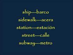 CLASES DE INGLES BASICO #68. VOCABULARIO EN INGLES - TRANSPORTE