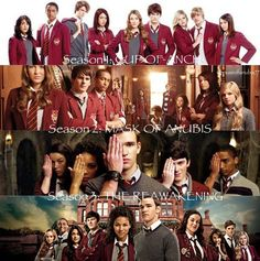 Seasons of House of Anubis...I wonder what mystery season 4 will bring??