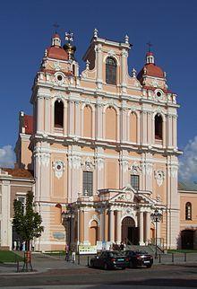 Vilna - La iglesia de San Casimiro