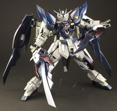GUNDAM GUY: HGBF 1/144 Wing Gundam Dark Zero - Painted Build