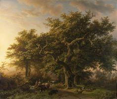Barend Cornelis Koekkoek   1848   Forest Scene