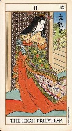 "[ ""The High Priestess"" from Japanese Serie Tarot ]"