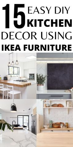 IKEA products are great to hack for your kitchen. Easy DIY can turn IKEA products into great items for your kitchen, to help with storage, display and productivity. Home Decor Hacks, Diy Home Decor, Decor Ideas, Ikea Kitchen, Kitchen Hacks, Ikea Hack Storage, Ikea Hacks, Ikea Products, Ikea Decor