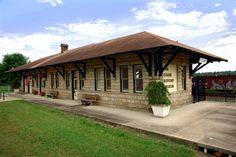 Ozark Area Depot Museum - Ozark - Arkansas Attractions