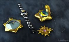 Sailor Moon - Tuxedo Mask Items by digitalAuge on DeviantArt Tuxedo Mask, Doll Divine, Sailor Moon, Bracelet Watch, Deviantart, Accessories, 3d, Sailor Moons, Jewelry Accessories