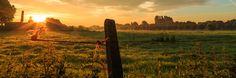 Sunrise over Flanders Fiels - Sunrise over Flanders Fields