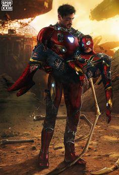 Iron Man & Spider-Man, Avengers Infinity War