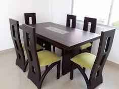 Dinner Tables Furniture, Dining Room Furniture Design, Dining Room Table Decor, Dining Table Chairs, Home Decor Furniture, Modern Furniture, Wooden Dining Table Designs, Dinning Table Design, Wooden Dining Tables