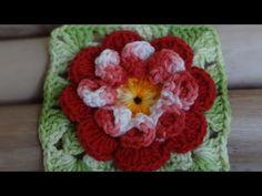Passo a passo Flor Nathy em Crochê - YouTube