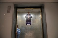CAPTION: Inside Trump Tower in Manhattan. Donald J. Trump is facing increasing pressure in his own party to end his candidacy.