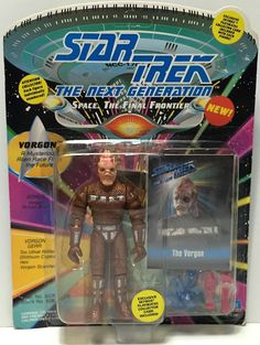 (TAS034818) - 1993 Playmates Star Trek The Next Generation Figure - Vorgon