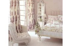 My dream bedroom(s) photos) – theBERRY Dream Bedroom, Home Bedroom, Pretty Bedroom, Mauve Bedroom, Airy Bedroom, Bedroom Colours, Shabby Bedroom, Mirror Bedroom, Bedroom Retreat