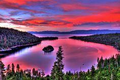 Red tahoe
