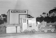 """VR ran several """"postal motors"""" instead of trains to handle mail, some parcels and the odd (sorry, occasional) passenger. Piangil to Kooloonong was one such run. Metro Rail, Train Station, Rolls, Vr, Motors, Trains, Handle, Outdoor, Outdoors"""
