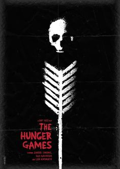 Redesigned Hunger Games Poster - Looks Like It Would Be A Horror Movie!