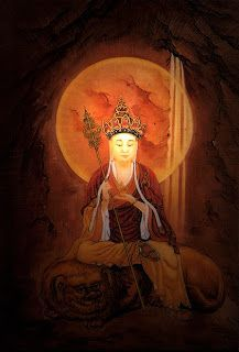 Ksitgarbha, the Bodhisattva of Hell Beings and Great Vows on ...