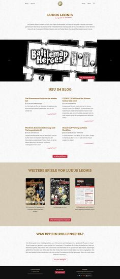 Die LUDUS LEONIS Homepage. Da gibt es die Rollenspiele NIP'AJIN und Battlemap Heroes kostenlos zum Download! Ajin, Boarding Pass, Blog, Drama Games, Blogging