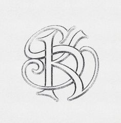 »SK« Monogram Interlaced ... by Arno Kathollnig