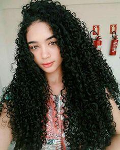 Gorgeous Long Curly Hair